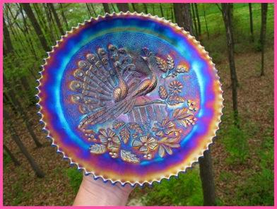 Carnival Iridescent Art Glass Northwood Dugan Fenton Millersburg Loetz Moser Glass